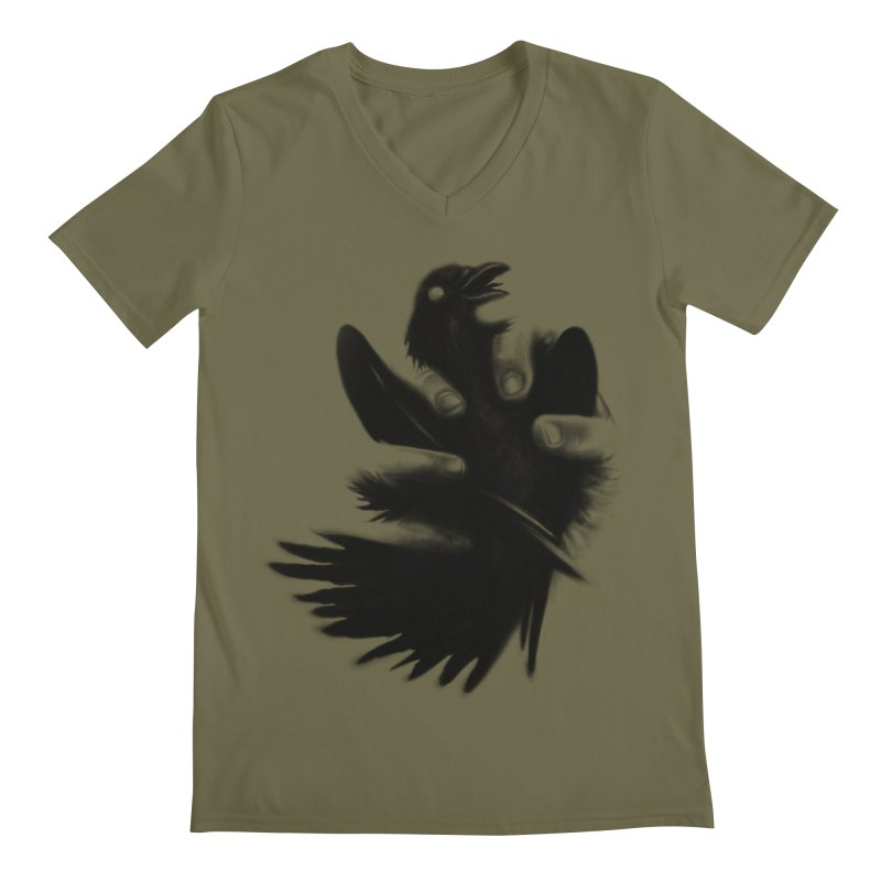 Freedom Grabber Men's V-Neck by rainvelle01's Artist Shop