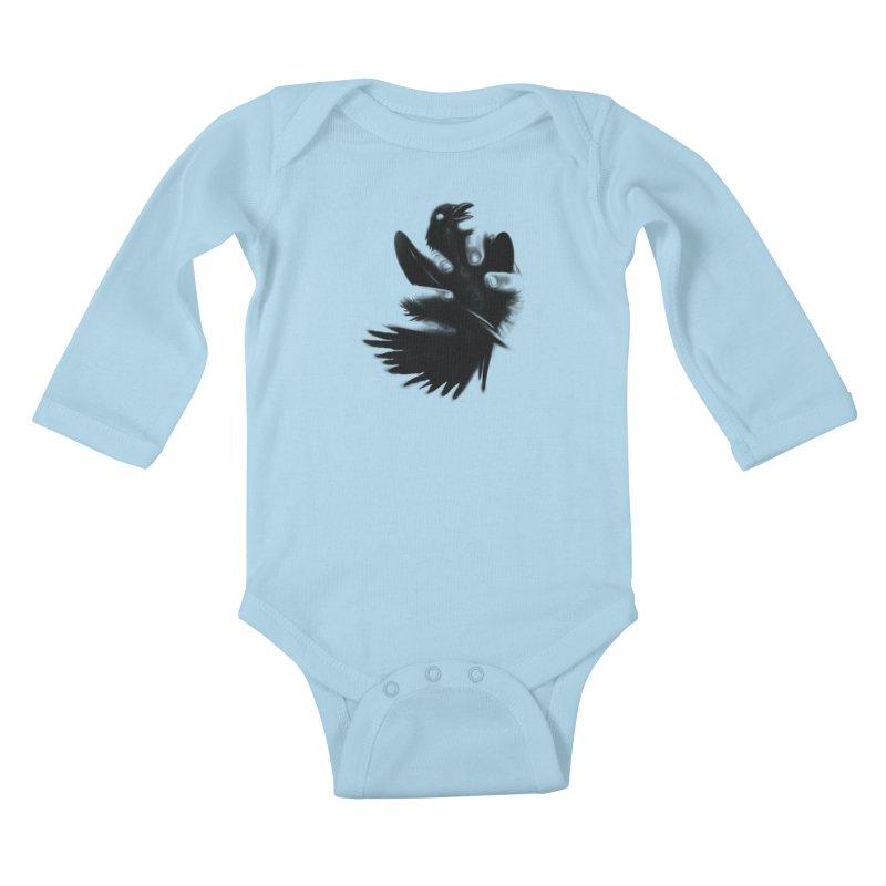 Freedom Grabber Kids Baby Longsleeve Bodysuit by rainvelle01's Artist Shop