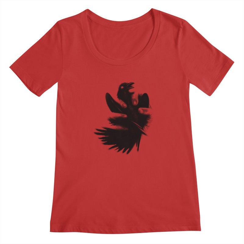 Freedom Grabber Women's Scoopneck by rainvelle01's Artist Shop