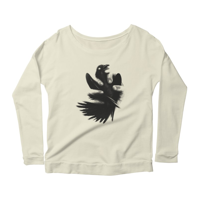 Freedom Grabber Women's Longsleeve Scoopneck  by rainvelle01's Artist Shop