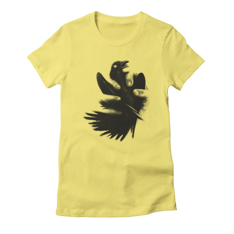 Freedom Grabber Women's Fitted T-Shirt by rainvelle01's Artist Shop