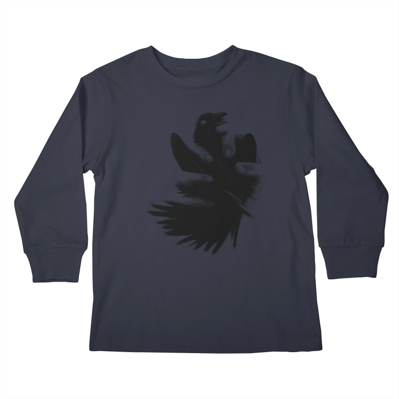 Freedom Grabber Kids Longsleeve T-Shirt by rainvelle01's Artist Shop