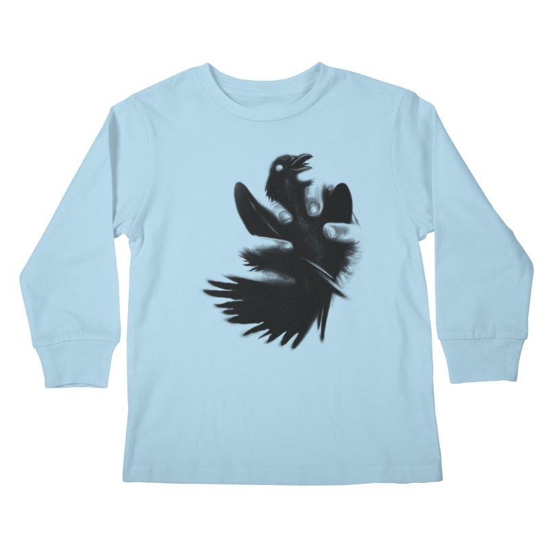 Freedom Grabber Kids Longsleeve T-Shirt by rainvelle01's Artist Shop