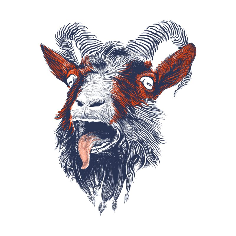 Rock Goat   by rainvelle01's Artist Shop