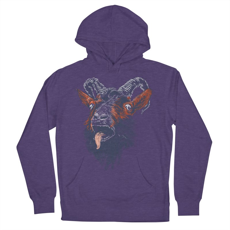 Rock Goat Women's Pullover Hoody by rainvelle01's Artist Shop