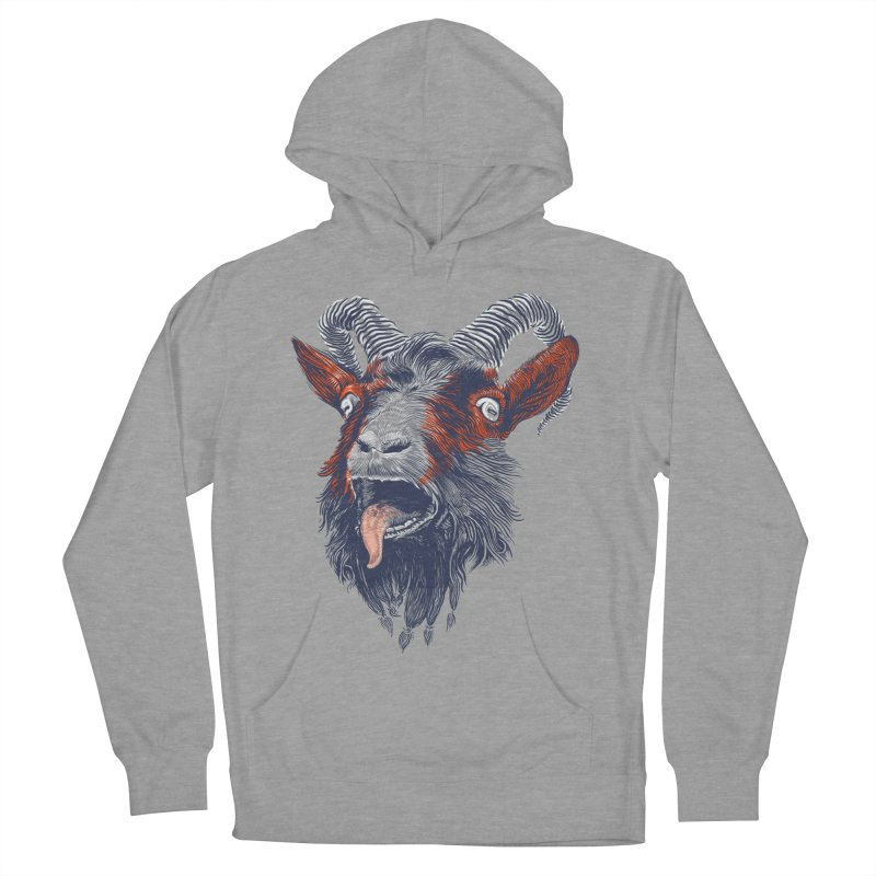 Rock Goat Men's Pullover Hoody by rainvelle01's Artist Shop