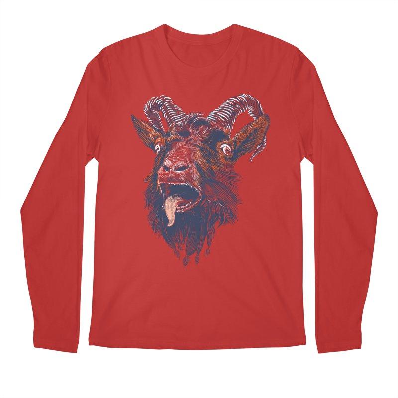 Rock Goat Men's Longsleeve T-Shirt by rainvelle01's Artist Shop