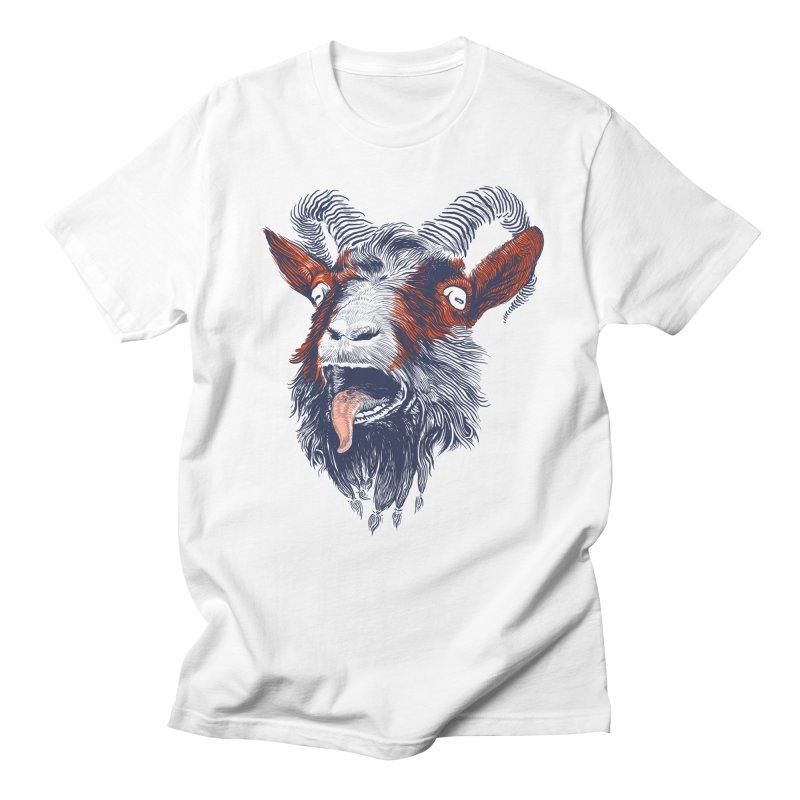 Rock Goat Men's T-shirt by rainvelle01's Artist Shop