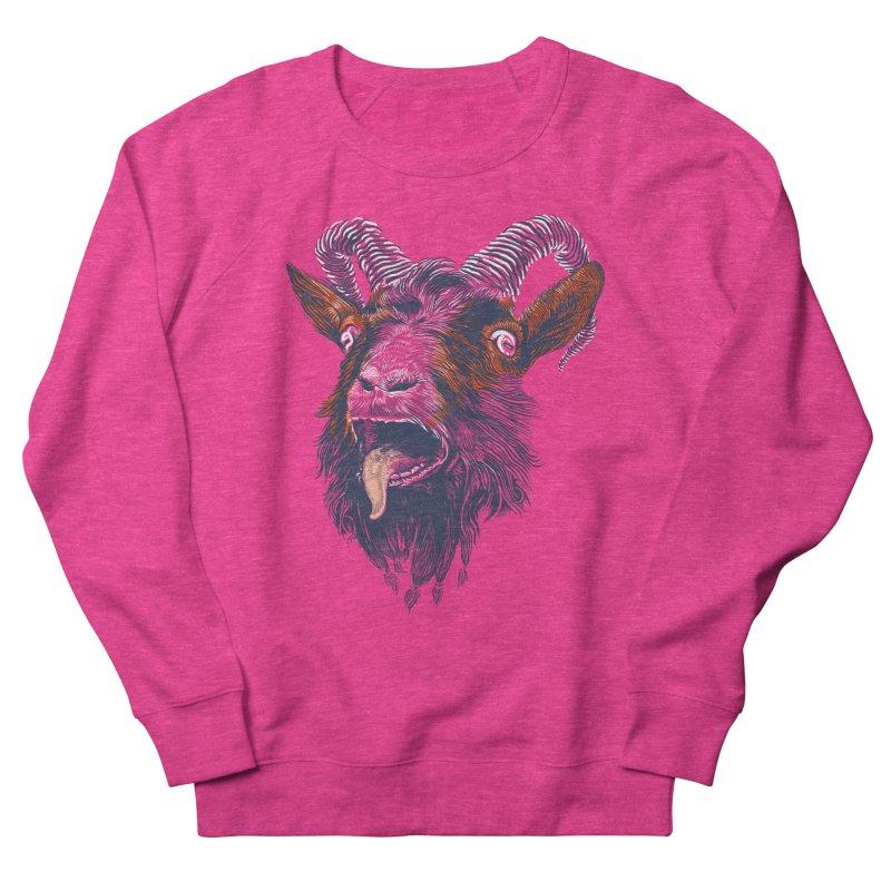 Rock Goat Men's Sweatshirt by rainvelle01's Artist Shop