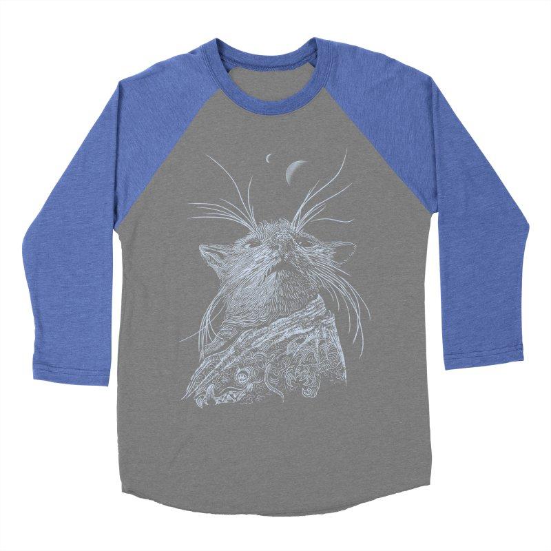 Mouse King Men's Baseball Triblend T-Shirt by rainvelle01's Artist Shop