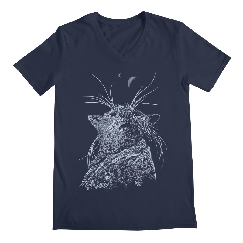 Mouse King Men's V-Neck by rainvelle01's Artist Shop