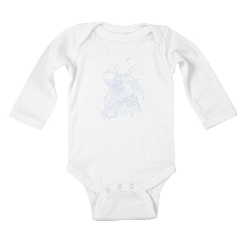 Mouse King Kids Baby Longsleeve Bodysuit by rainvelle01's Artist Shop