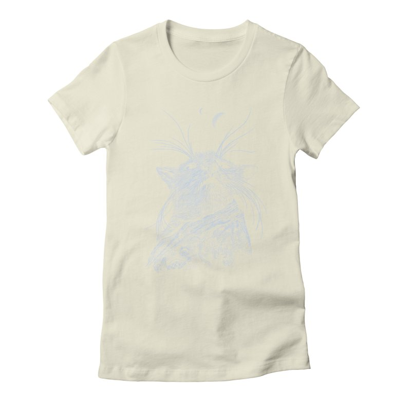 Mouse King Women's Fitted T-Shirt by rainvelle01's Artist Shop