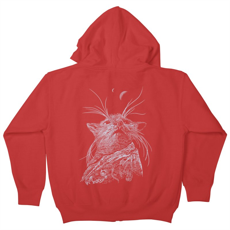 Mouse King Kids Zip-Up Hoody by rainvelle01's Artist Shop