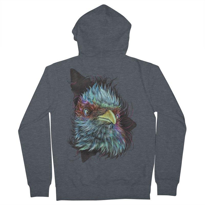 Bird of Prey Men's Zip-Up Hoody by rainvelle01's Artist Shop