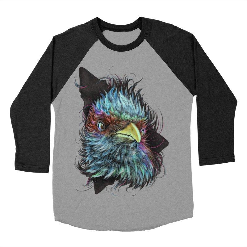 Bird of Prey Women's Baseball Triblend T-Shirt by rainvelle01's Artist Shop