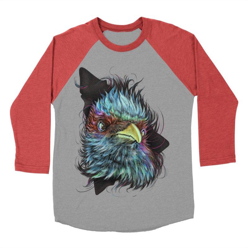 Bird of Prey Men's Baseball Triblend T-Shirt by rainvelle01's Artist Shop