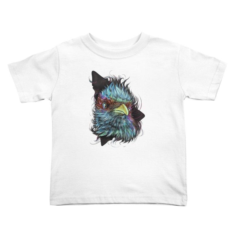 Bird of Prey Kids Toddler T-Shirt by rainvelle01's Artist Shop