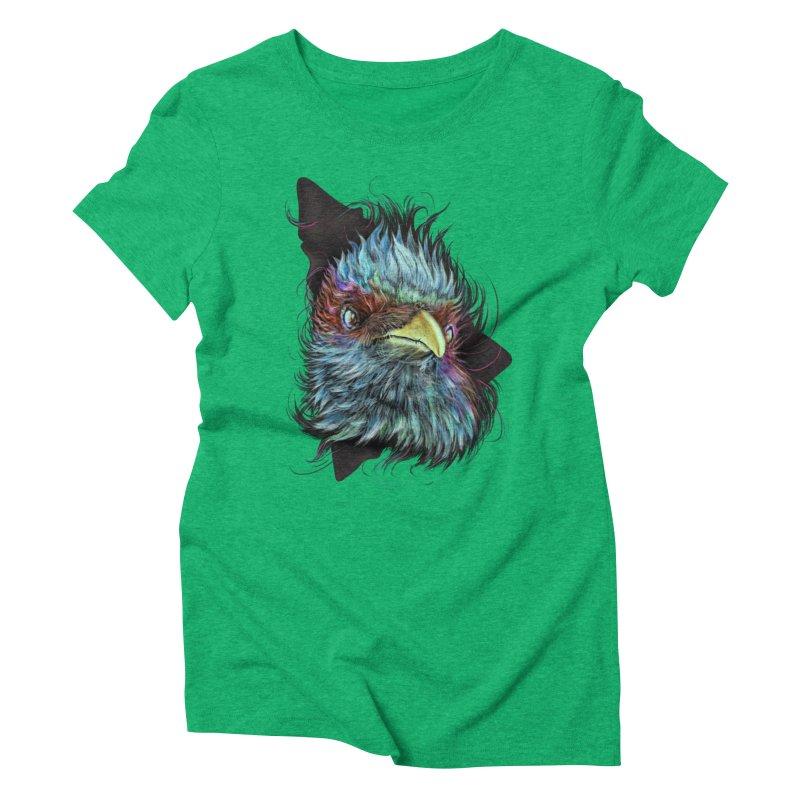 Bird of Prey Women's Triblend T-Shirt by rainvelle01's Artist Shop