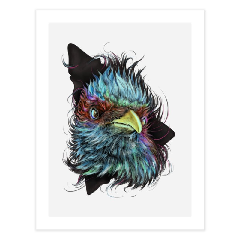 Bird of Prey Home Fine Art Print by rainvelle01's Artist Shop