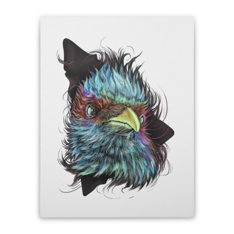Bird of Prey Home Stretched Canvas by rainvelle01's Artist Shop