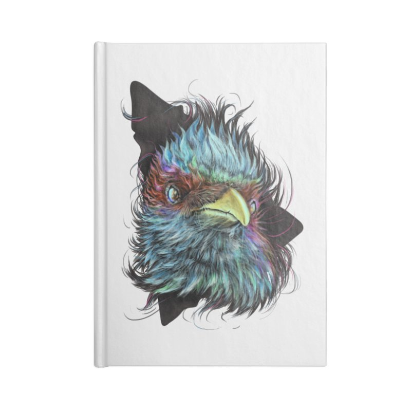 Bird of Prey Accessories Notebook by rainvelle01's Artist Shop