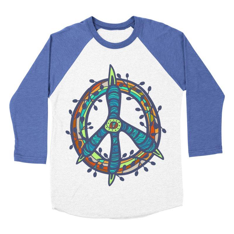 A Peace of Chicken Foot Men's Baseball Triblend T-Shirt by rainvelle01's Artist Shop