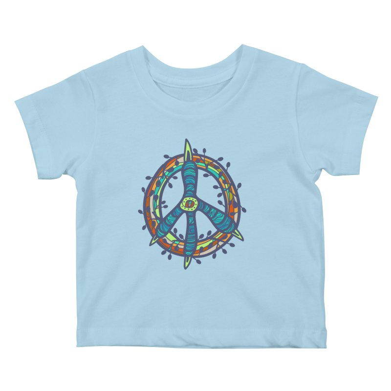 A Peace of Chicken Foot Kids Baby T-Shirt by rainvelle01's Artist Shop