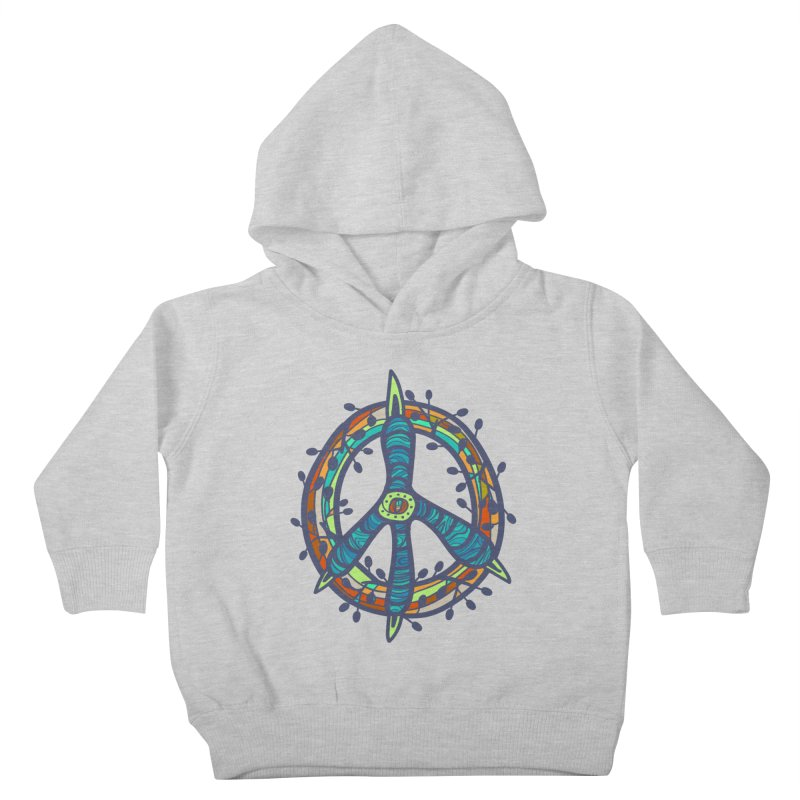 A Peace of Chicken Foot Kids Toddler Pullover Hoody by rainvelle01's Artist Shop
