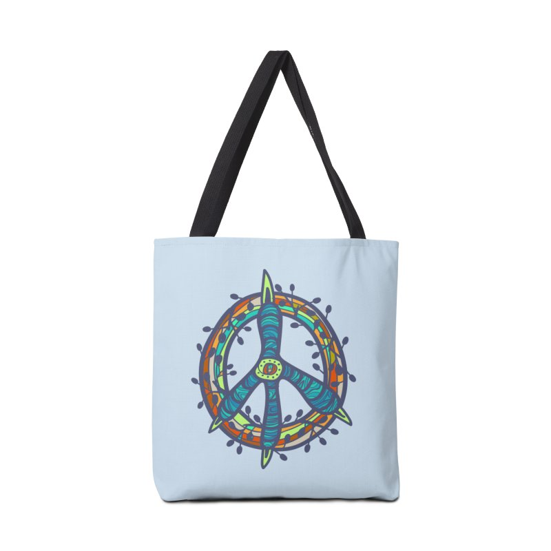 A Peace of Chicken Foot Accessories Bag by rainvelle01's Artist Shop