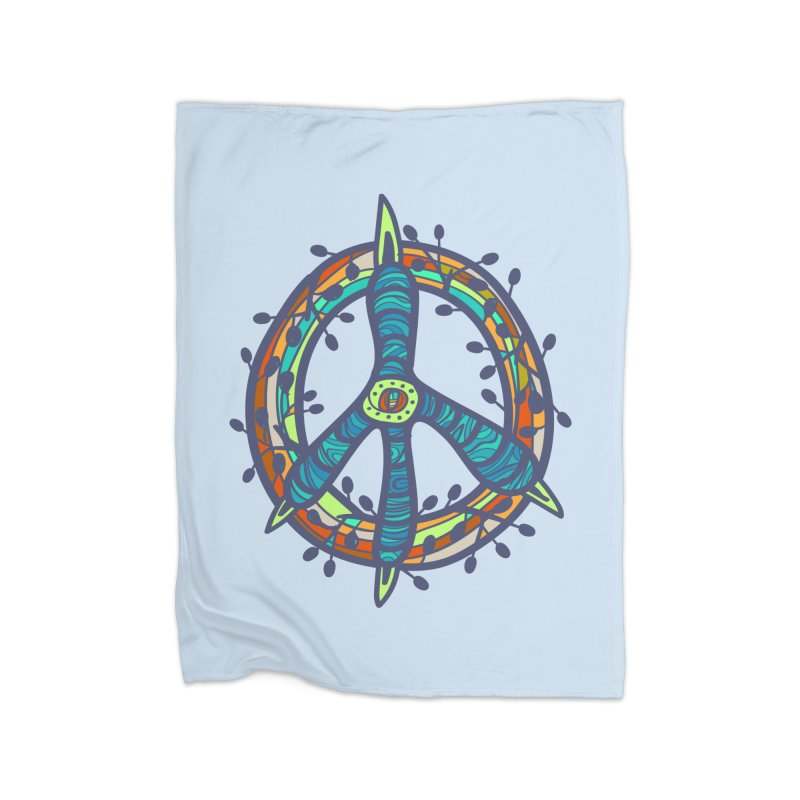 A Peace of Chicken Foot Home Blanket by rainvelle01's Artist Shop