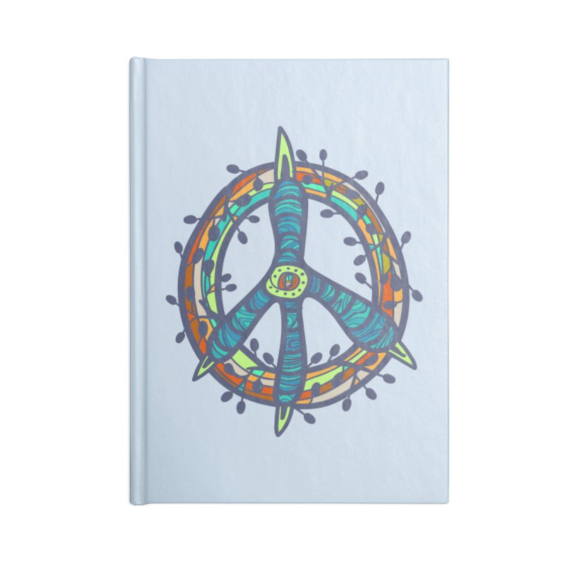 A Peace of Chicken Foot Accessories Notebook by rainvelle01's Artist Shop