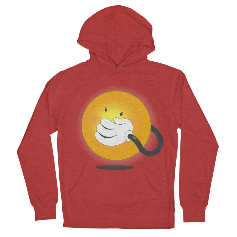 You Can't Hide Your Smile! Women's Pullover Hoody by rainvelle01's Artist Shop