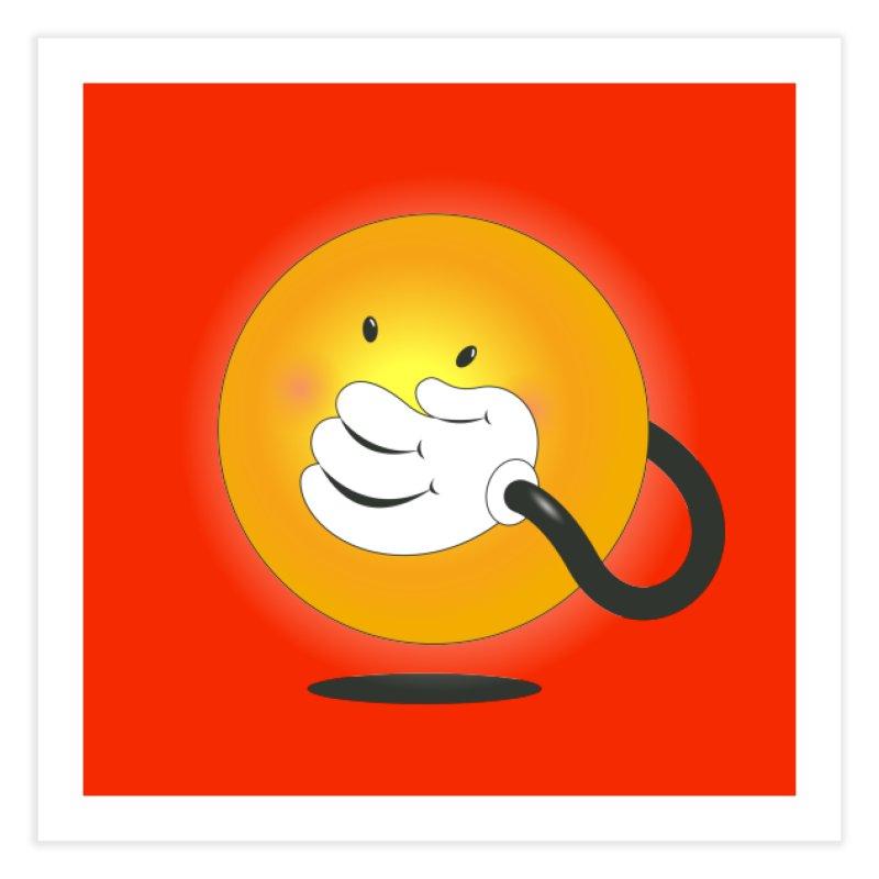 You Can't Hide Your Smile! Home Fine Art Print by rainvelle01's Artist Shop