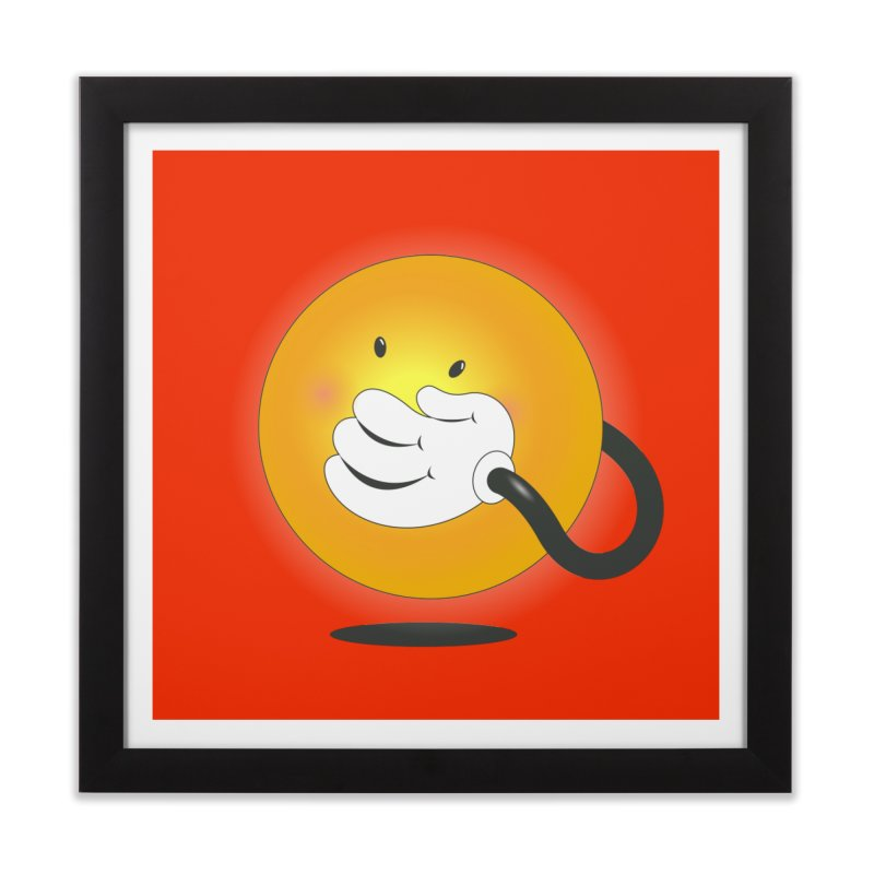 You Can't Hide Your Smile! Home Framed Fine Art Print by rainvelle01's Artist Shop