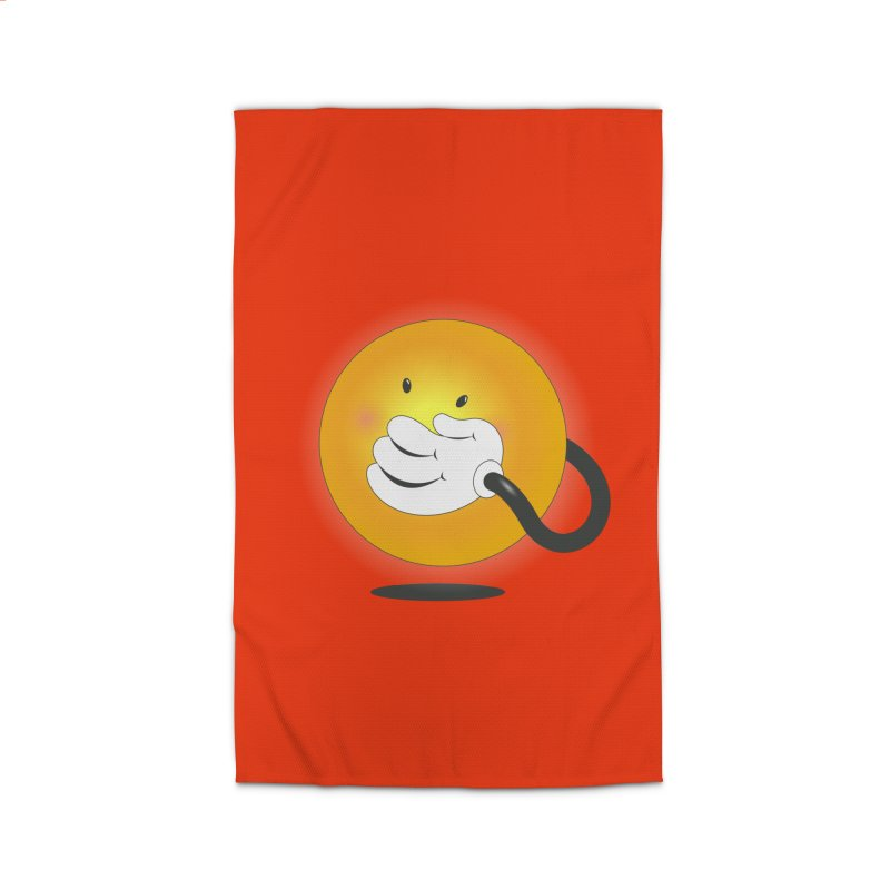 You Can't Hide Your Smile! Home Rug by rainvelle01's Artist Shop