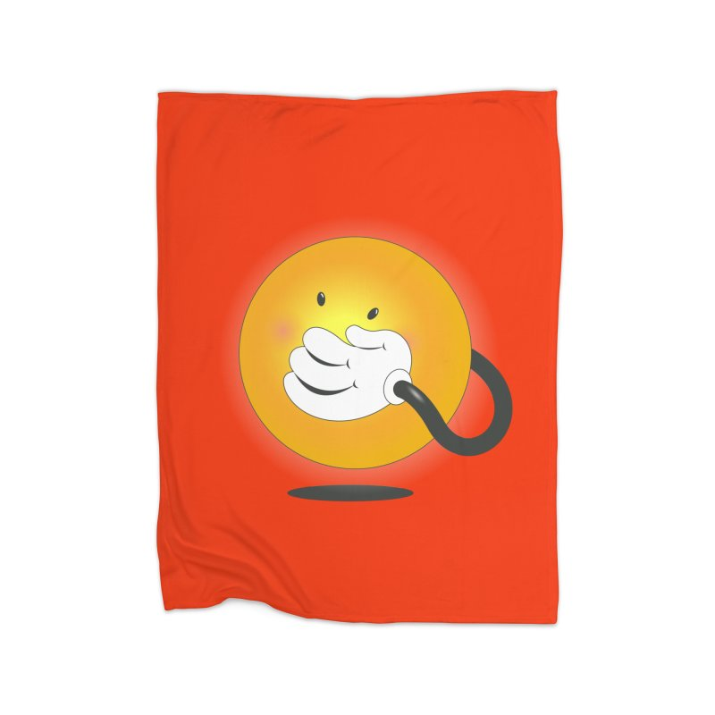 You Can't Hide Your Smile! Home Blanket by rainvelle01's Artist Shop
