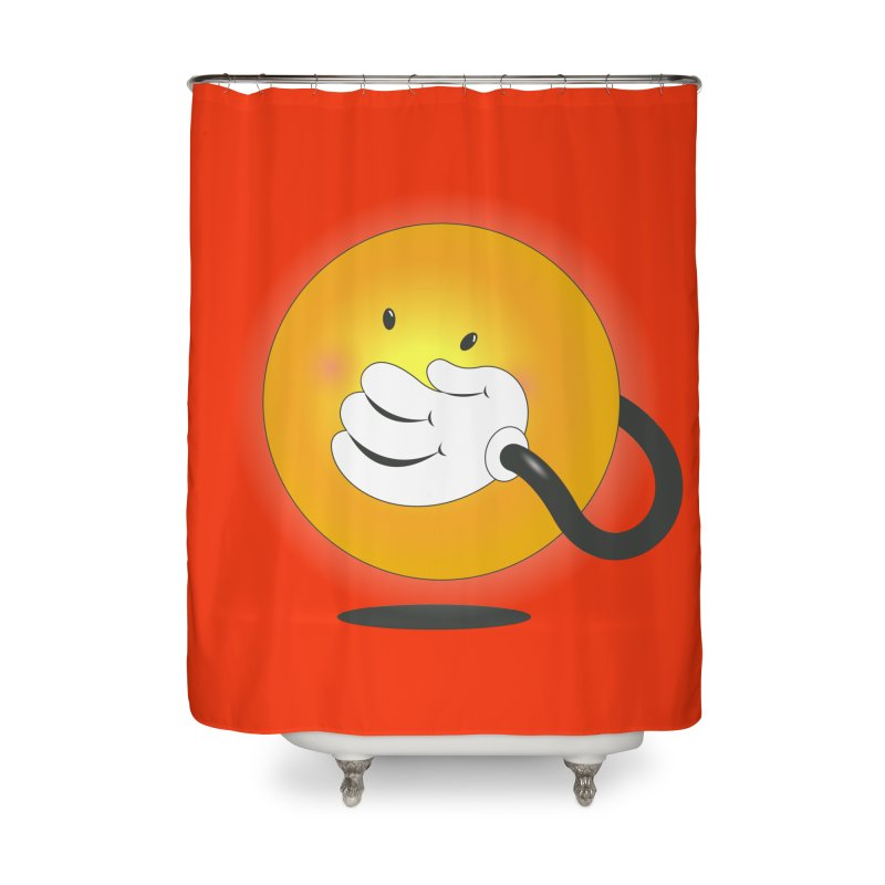 You Can't Hide Your Smile! Home Shower Curtain by rainvelle01's Artist Shop