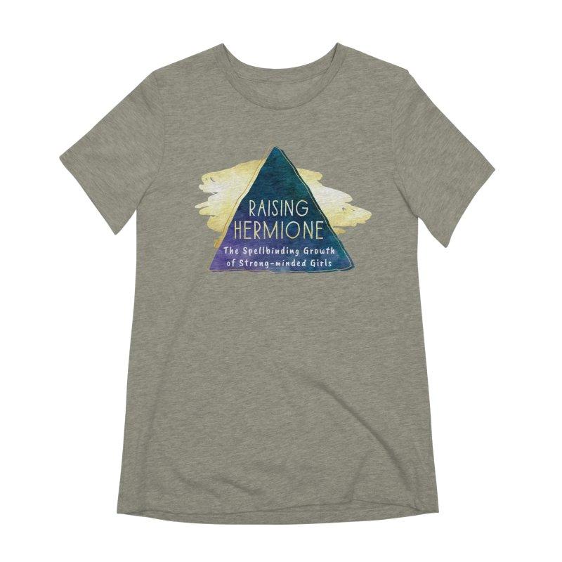 Raising Hermione Full Logo Women's Extra Soft T-Shirt by Raising Hermione