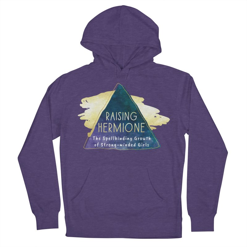 Raising Hermione Full Logo Women's French Terry Pullover Hoody by Raising Hermione