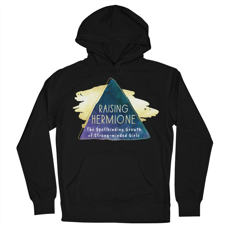 Raising Hermione Full Logo Men's French Terry Pullover Hoody by Raising Hermione