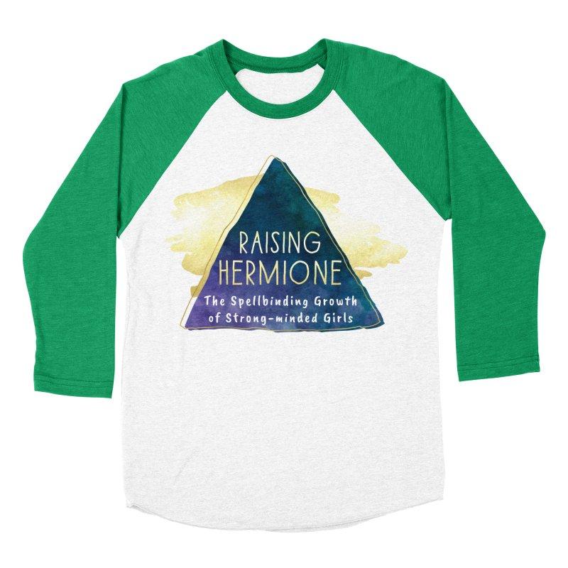 Raising Hermione Full Logo Women's Baseball Triblend Longsleeve T-Shirt by Raising Hermione