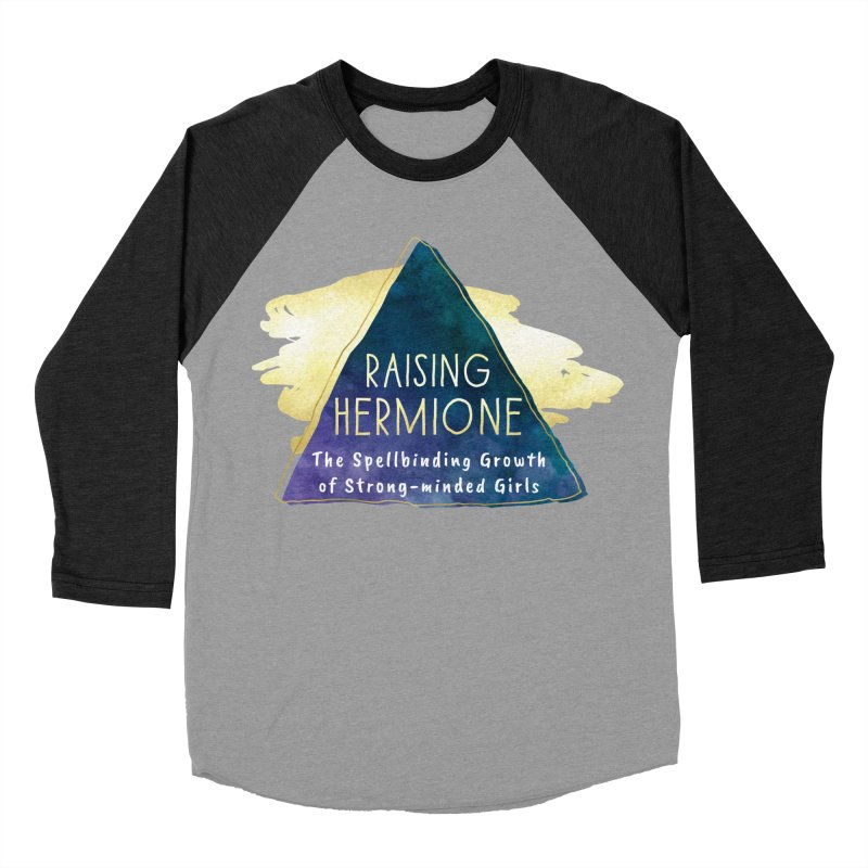 Raising Hermione Full Logo Men's Baseball Triblend Longsleeve T-Shirt by Raising Hermione