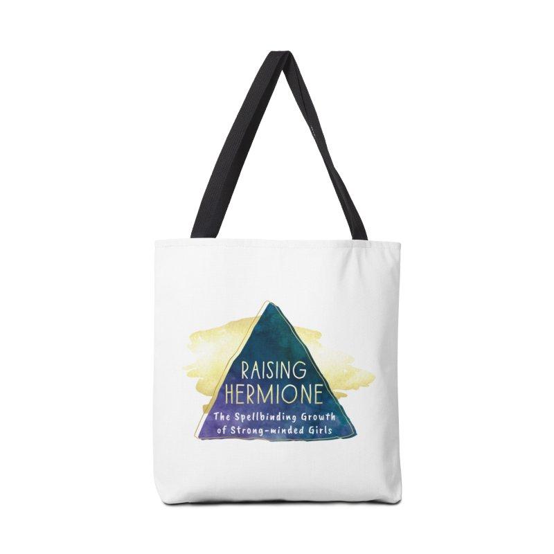 Raising Hermione Full Logo Accessories Tote Bag Bag by Raising Hermione