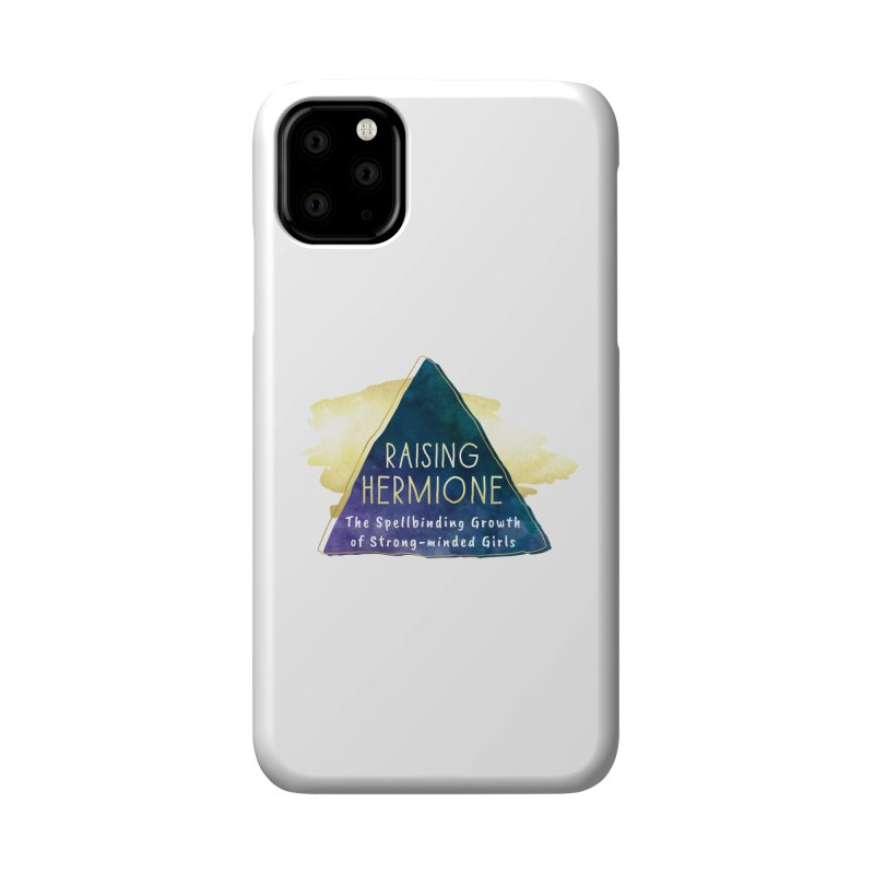 Raising Hermione Full Logo Accessories Phone Case by Raising Hermione