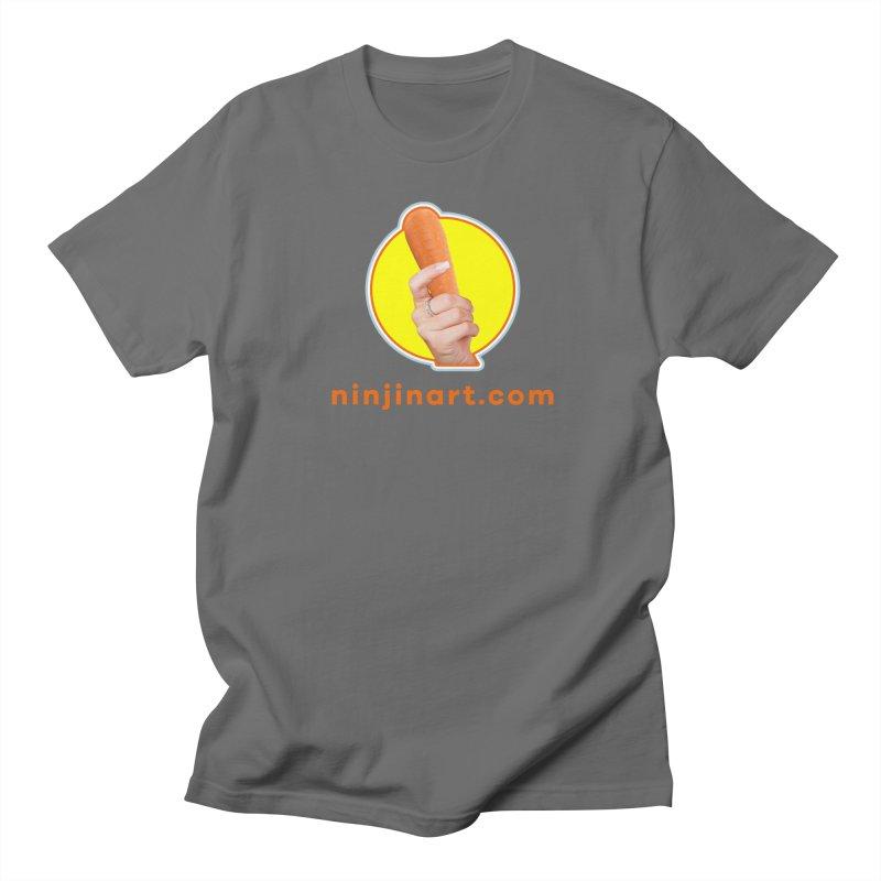 Ninjin Art Logo Men's T-Shirt by Rake Clag