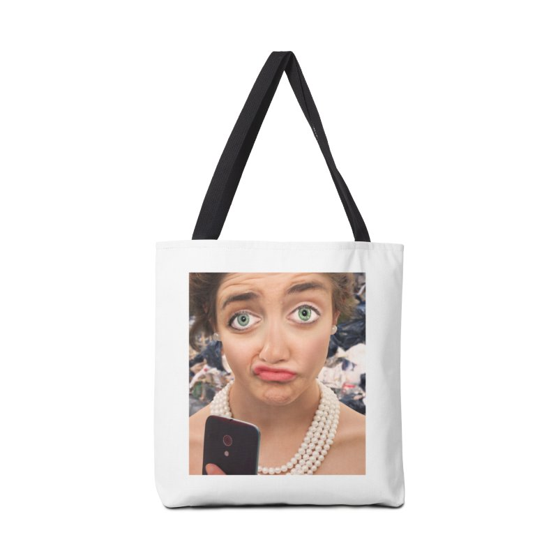 Selfies Are Rubbish Accessories Bag by The Rake & Herald Online Clag Emporium