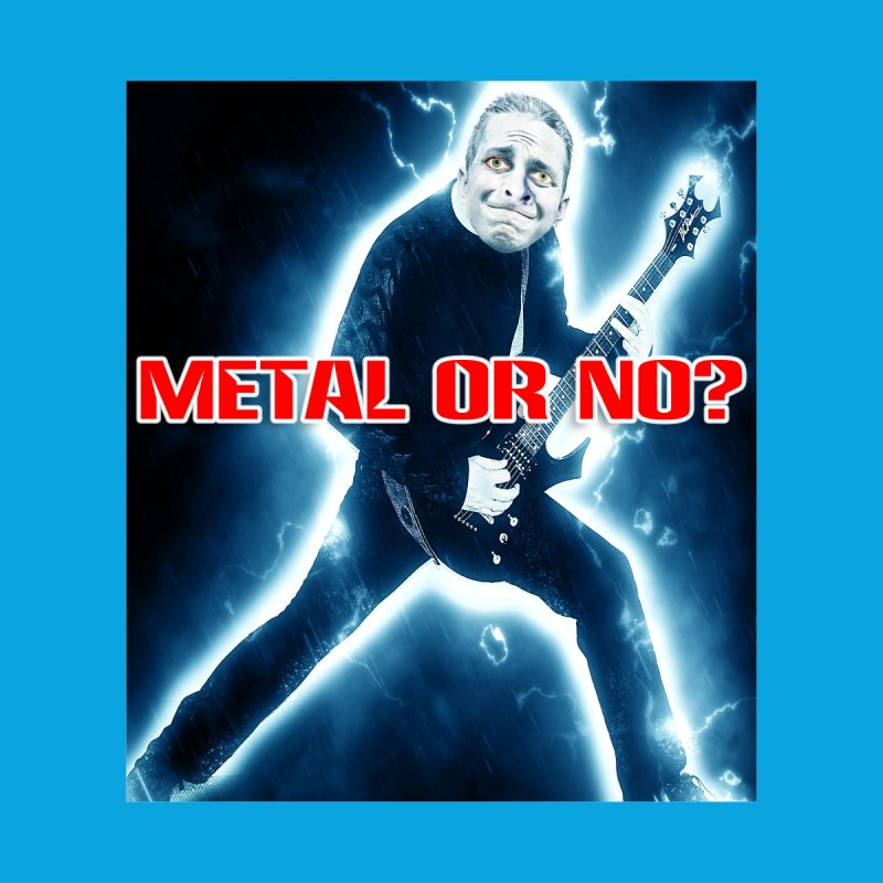 Metal or No? Men's T-Shirt by The Rake & Herald Online Clag Emporium