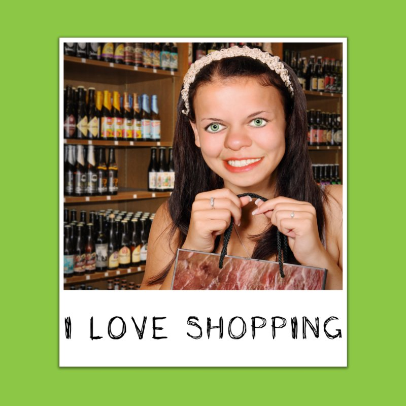 I Love Shopping by The Rake & Herald Online Clag Emporium