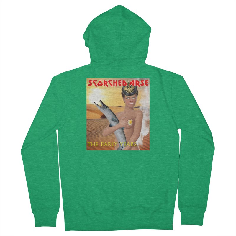 Scorched Arse: the Early Years Women's Zip-Up Hoody by The Rake & Herald Online Clag Emporium